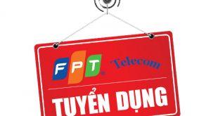 FPT Telecom tuyển dụng nhân viên kinh doanh