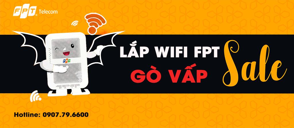 Khuyến mãi lắp Wifi FPT Quận Gò Vấp