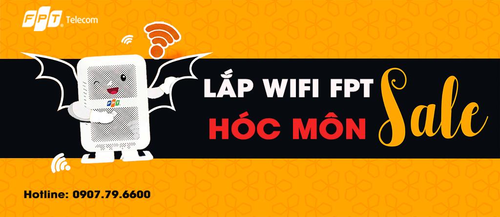 Khuyến mãi lắp Wifi FPT Huyện Hóc Môn
