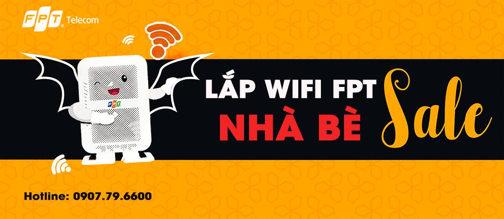 Khuyến mãi lắp Wifi FPT Huyện Nhà Bè