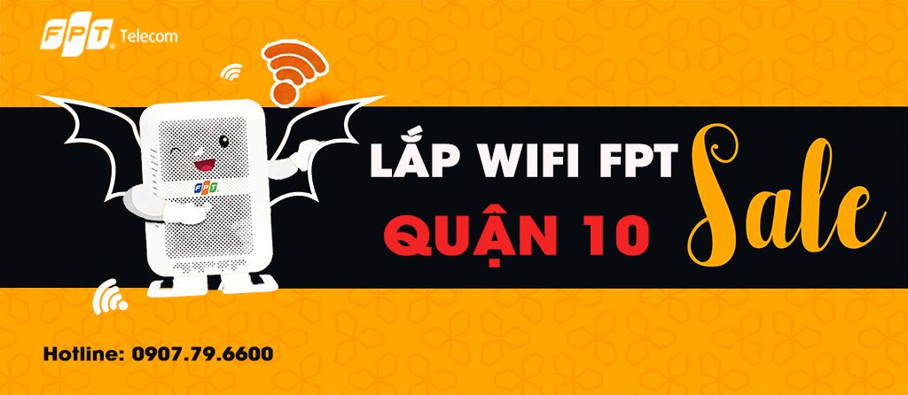 Khuyến mãi lắp Wifi FPT Quận 10