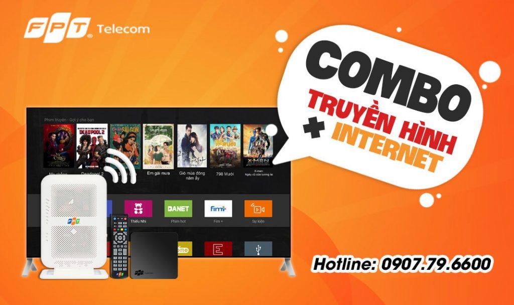 Combo Internet & Truyền hình FPT