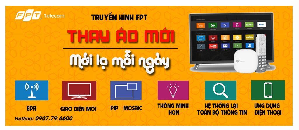 Lắp đặt truyền hình FPT